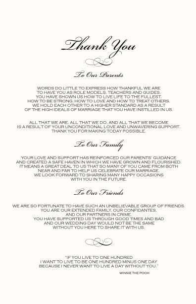 wedding ceremony programs | Monogram Wedding Ceremony Program Examples-Wedding Directories-Order ...