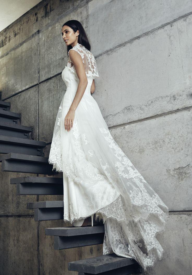 Gerald C Wedding Dresses : Lace bolero weddings melindalooi melindalooiivory ivory bridal