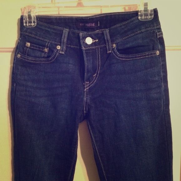 Levi's Skinny Jeans Dark Levi skinny jeans. Slightly jeggings because they are rather stretchy. Levi's Jeans Skinny