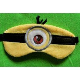 Sleep Mask One Eye in Minion Mask... I need this!  lol