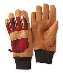#LLBean: Rangeley Waterproof Gloves, Plaid