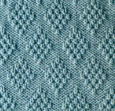 Бесплатный узор для вязания с помощью спиц (со схемой)