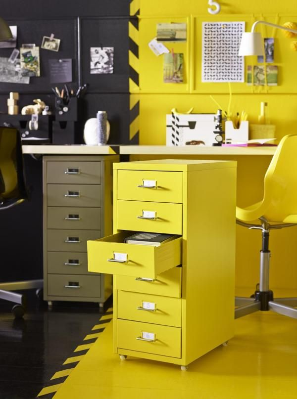 ikea helmer in yellow organization pinterest tops yellow and ikea. Black Bedroom Furniture Sets. Home Design Ideas