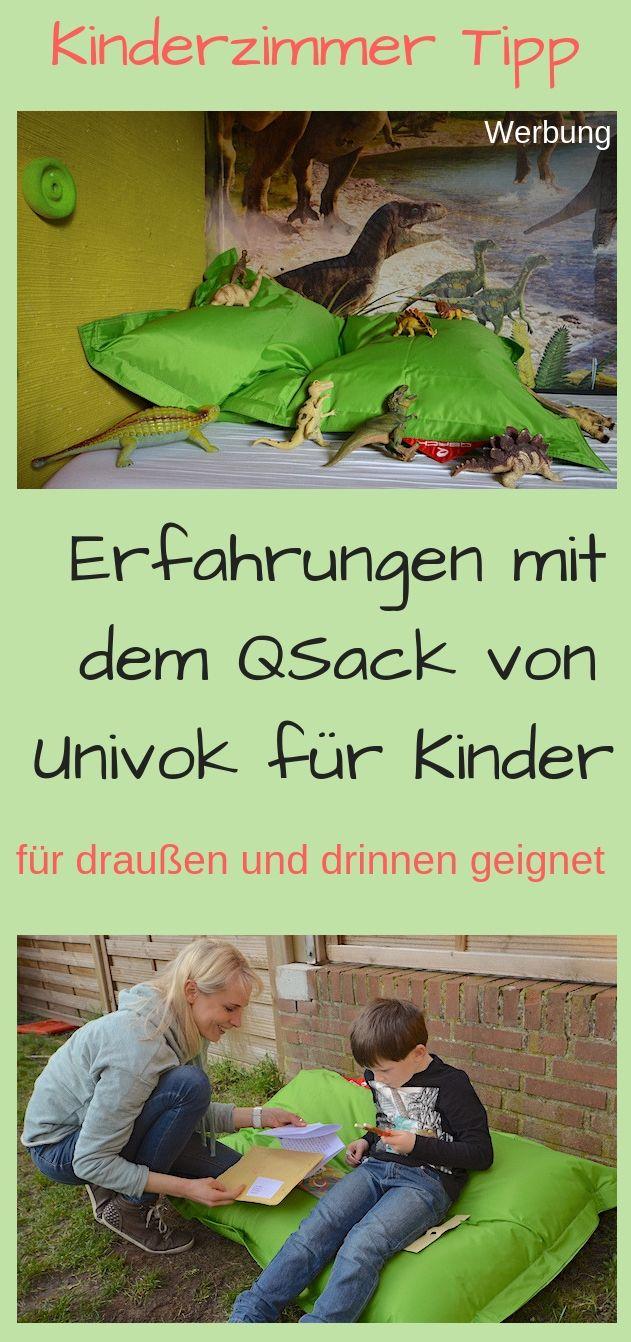 Qsack Von Univok Fur Draussen Fruhling Mit Kindern Kinder Zimmer Kinder Kissen Grun