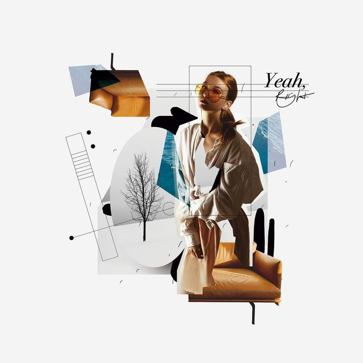 "I'm Marco Vannini ""Mavantri"", a digital collage artist and designer born in Venezuela currently based in Taggia, IT. Art Du Collage, Collage Illustration, Collage Design, Collage Artists, Digital Collage, Photomontage, Inspirational Phone Wallpaper, Flower Phone Wallpaper, Fashion Collage"