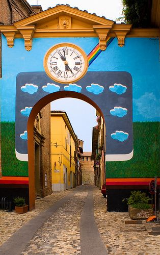 Dozza, Bologna, Emilia, Italy