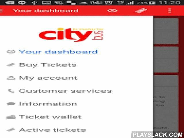 Plymouth Citybus  Android App - playslack.com ,  Plymouth Bus runs local buses in Plymouth and Cornwall.Key features on our free app:- Buy tickets in the app to use immediately, or save for later - You can even send mobile tickets to other people and payments are made securely with your credit or debit card, PayPal and Pingit- Twitter updates- Customise how the app looks, with what's most important to you and make your home or workplace stops as your favourites.What's newPayPal and vouchers