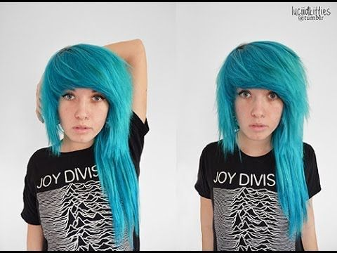 Daily hair routine. Need to do this! Love the color too!