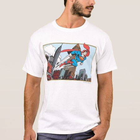 Superman & Skyscrapers T-Shirt - click/tap to personalize and buy