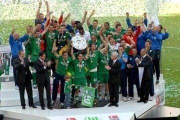 Deutscher Meister 2009: VFL Wolfsburg