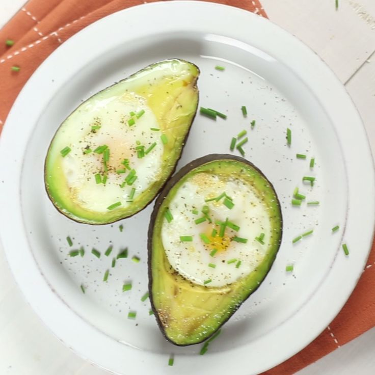 Pop eggs into the center of an avocado and bake them for this creamy breakfast dish