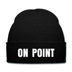 On Point Beanie - Available Here: http://sondersky.spreadshirt.com.au/on-point-A18451820
