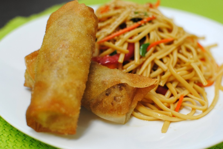 Spring rolls, Image search and Spring on Pinterest