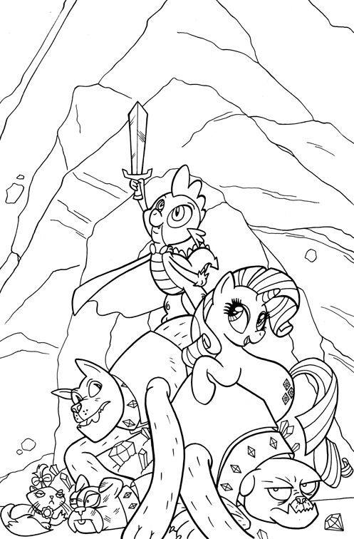 232 Best MLP Coloring Pages Images On Pinterest