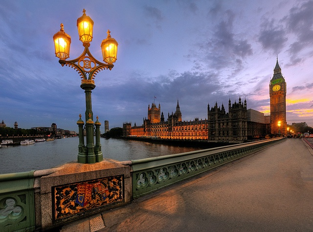 Whitehall, London, England by Costa Dinos. Love this colours with this beautiful sky and every thing.