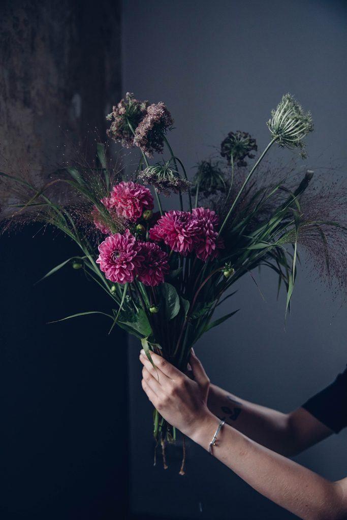 Pink Dahlias Bouquet - Flower Inspiration