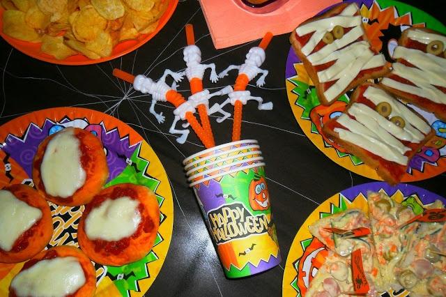 La mia tavola per Halloween!