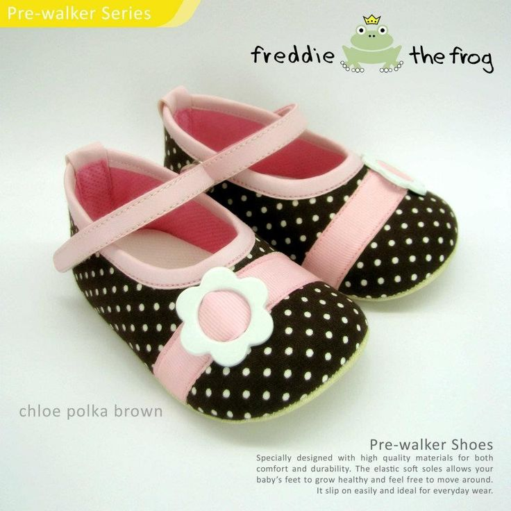 Chloe Polka Brown    Condition  	New      Type: Pre-walker Shoes  Material: Fabric  Size available :  Size 3   (3-6m) 11cm  Size 4   (6-9m) 11.5cm  Size 5   (9-12m) 12cm  http://baby.letimahouse.com   Text & Whatsapp: +62-877-8080-6878 #sepatubayikeren #sepatubayiindo #sepatubayi #sepatubayiimut #freddiethefrogindo #freddiethefrog #freddiethefrogshoes #Jualsepatubayi #prewalkershoes #prewalker #tokobayimurah #tokobayi #tokobayijakarta #balita #batita