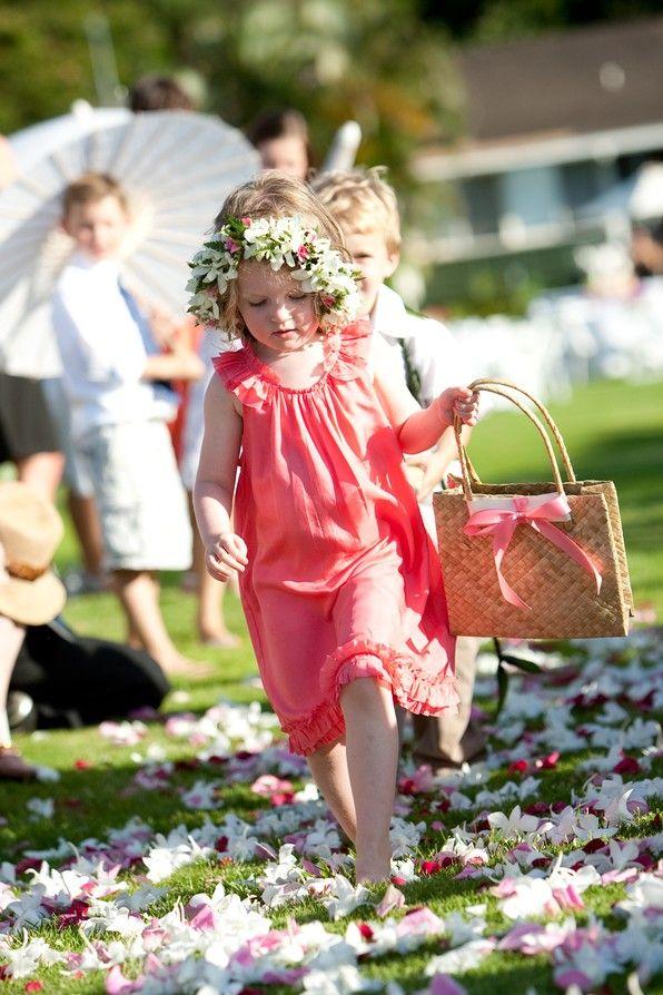 17 best images about destination wedding flower girls on pinterest bridal flip flops hawaii. Black Bedroom Furniture Sets. Home Design Ideas