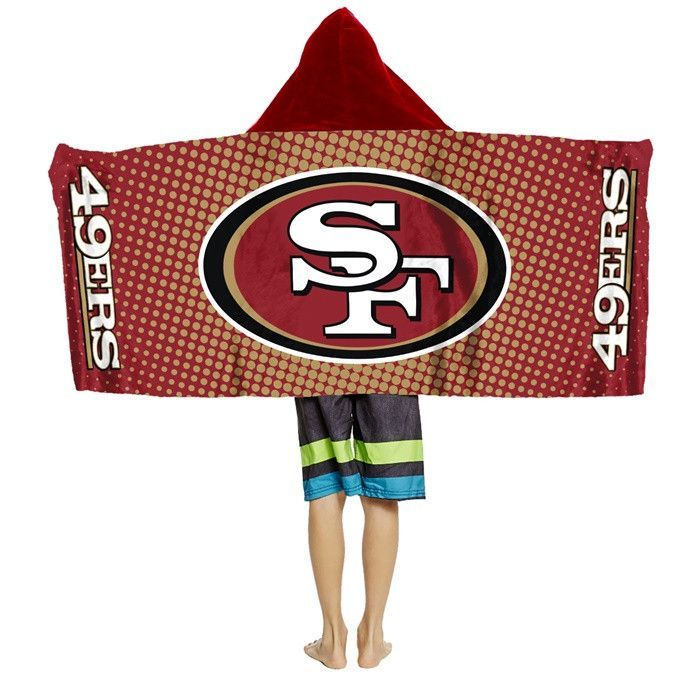 Use this Exclusive coupon code: PINFIVE to receive an additional 5% off the San Francisco 49ers NFL Youth Hooded Towel at SportsFansPlus.com