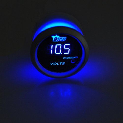 """Universal 2"""" 52mm Blue Digital LED Volt Voltmeter Gauge 0-15V by nj365. Save 66 Off!. $26.99. If you are not satisfied with something, please don't leave us negative or neutral feedback right away. Please contact us via email. We promise to provide 100% fine customer service and try best to make every customer get good mood with fine shopping experience here. Instruction:   Tinted WHITE gauge face   SILVER gauge ring   Blue Digital LED Readout   Mounting and Installation hardware…"""