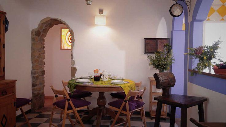 Detalle del interior de la casa rural Grande en Zahara de los Atunes