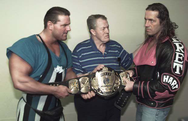 The British Bulldog, Stu Hart and Bret Hart