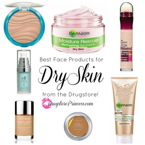 DrugstorePrincess.com's Favorite Face Products for Dry Skin!Those of you with flaky patches, tightness, and rough texture, rejoice!  Here is a list of affordable products that will fix your problems with your skin.  Dry skin is demanding, and needs constant coddling and moisture.  Makeup would normally accentuate flaws on dry skin, but these products have been tried and tested to ensure a flawless finish every time!Oily Skin?  Click Here![[MORE]]1.  Neutrogena Healthy Skin Liquid Makeup…