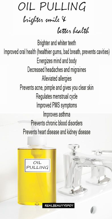 DIY Oil pulling - benefits, tips and method for brighter smile and better health