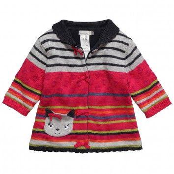 Catimini Baby Girls Knitted Coat at Childrensalon.com