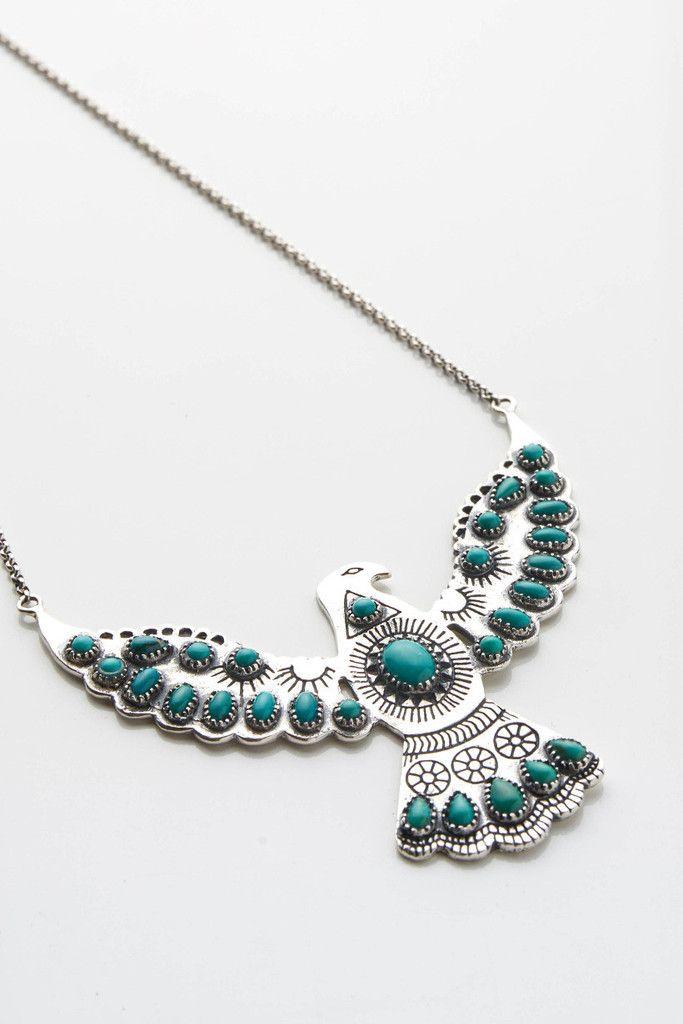 Wild Eagle Necklace @spelldesigns