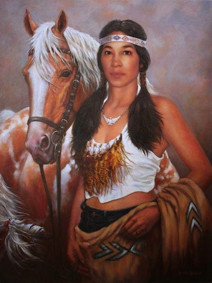 Native paintings nude american women