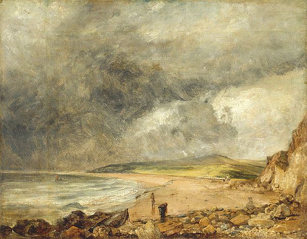 Weymouth Bay by John Constable (1819)