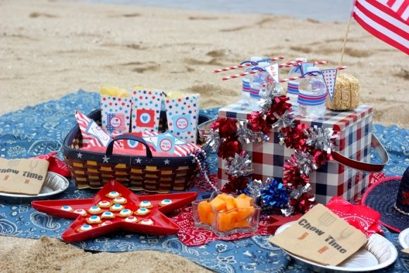 july 4th beach pictures