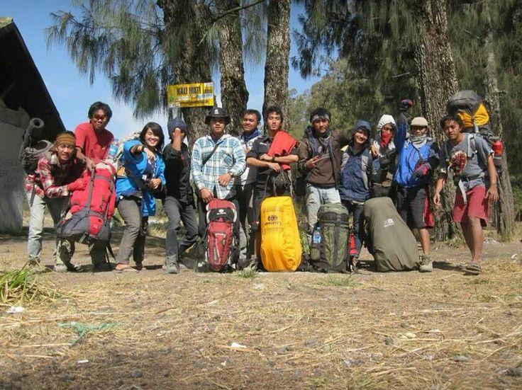 Hallo indonesia, It is the highest mountain on the island of Java #semeru