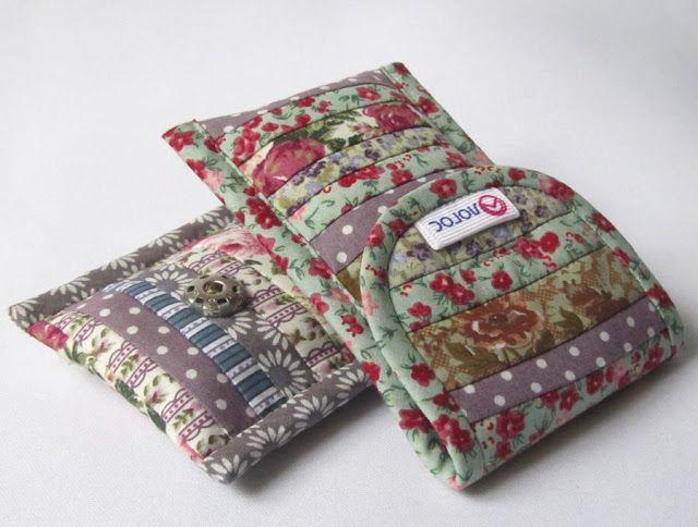 Stitch-Stezhochki: MK cell phone cases.