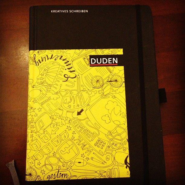 """Duden Notizbuch """"Kreatives Schreiben"""""""