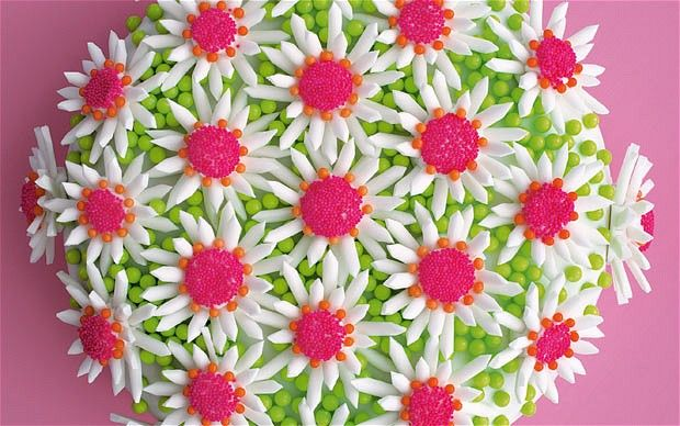Cressida Bell's   Daisy cake