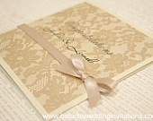"Wedding ""Congratulations"" card by 'B Studio Wedding Invitations'"