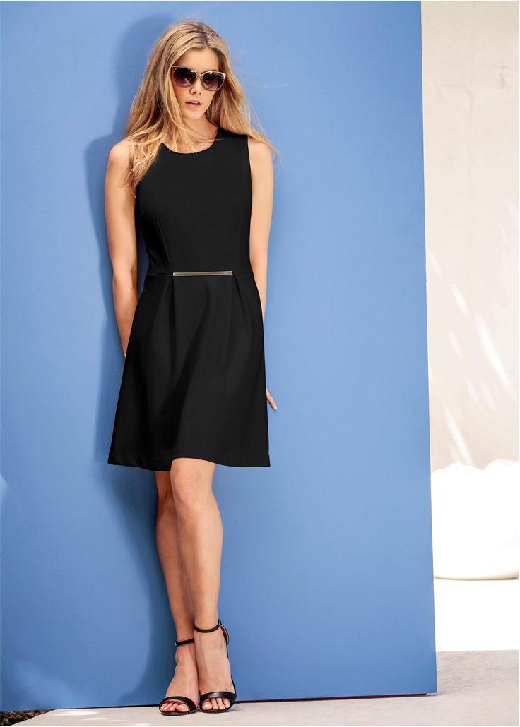 Vestido evasê preto encomendar agora na loja on-line bonprix.com.br  R$ 119,90 a partir de Perfeito para usar em uma festa ou em uma reunião importante do ...
