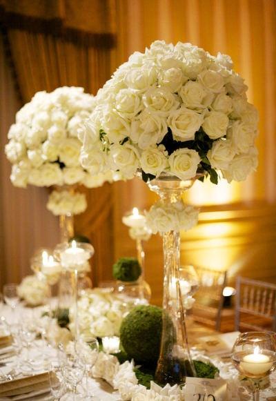 Best centerpiece trumpet vase images on pinterest