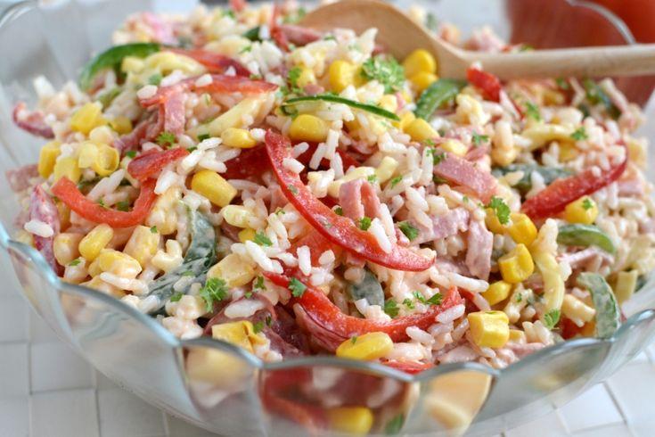 Gotuj z Cukiereczkiem: Sałatka ryżowa po wegiersku