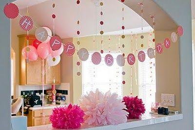 Polka Dot Party - Little Girl's Polka Dot Birthday Party Theme Ideas |