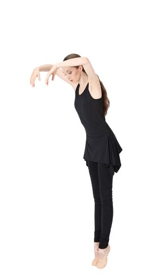 Yoga tunic by Repetto - Collection fall-winter 2015