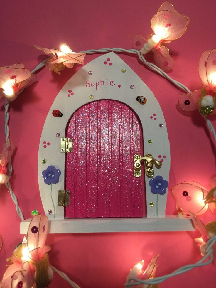 #Personalised #fairy door experience - opening #door, letter, wand, dust, magical,  View more on the LINK: http://www.zeppy.io/product/gb/2/322374671247/