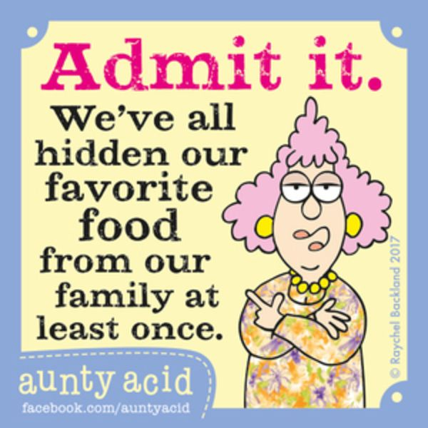 Aunty Acid for 7/1/2017