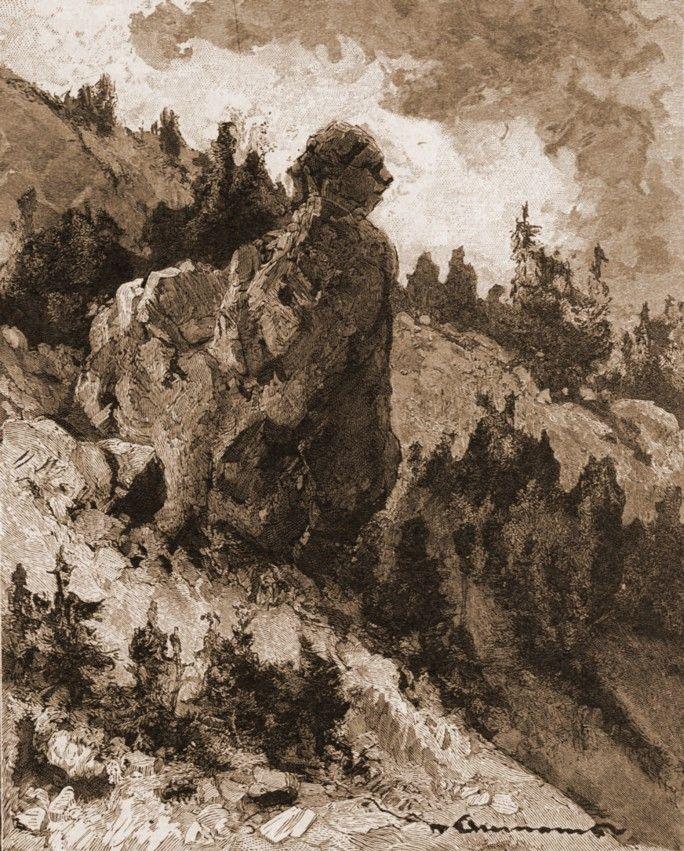 Iacobeni, Piatra Albă, dinspre Cârlibaba (Ciocăneşti)