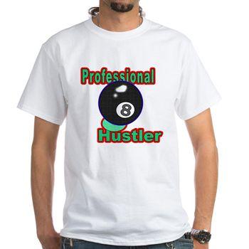 pro 8 ball hustler shirt professional 8 ball hustler design unique gift ideas for pool