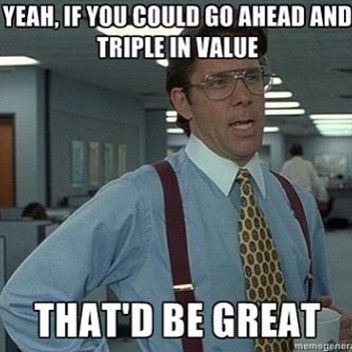 Is that too much to ask?  #cryptocurrency #bitcoin #ethereum #ether #cryptotrading #trading #ICO #litecoin #money #blockchain  #trading #money #markets #stocks