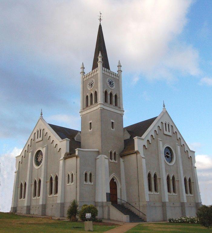 Die kerk in Barrydale se hoeksteen is in 1908 neergelê. Foto: Phil Pieterse (Flickr)